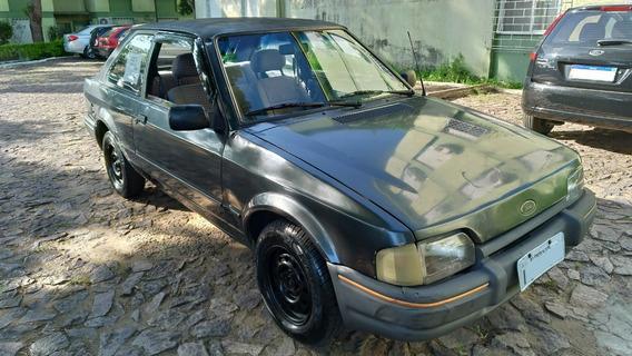 Escort L 1991 Cht Gasolina - Baixou O Preço!
