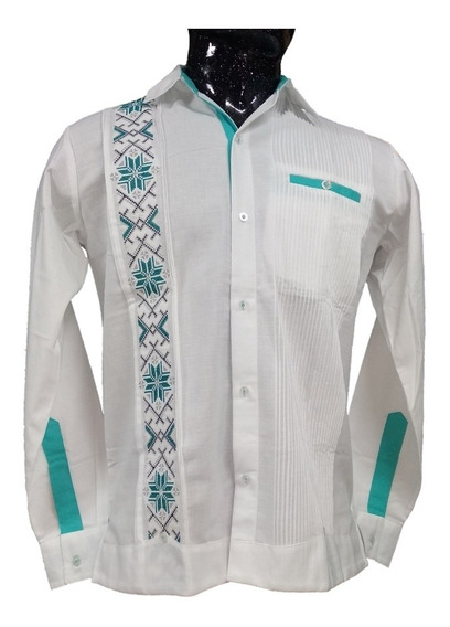 Guayabera B/v 100% Yucateca Lino/algodón ¡somos Fabricantes!