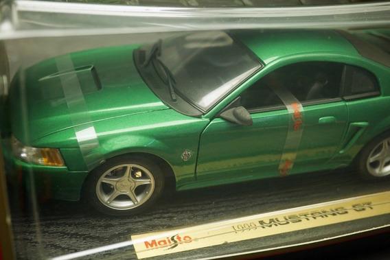 Ford Mustang Gt 1999 1:18 Maisto Ñ Kombi Fusca Senna F1