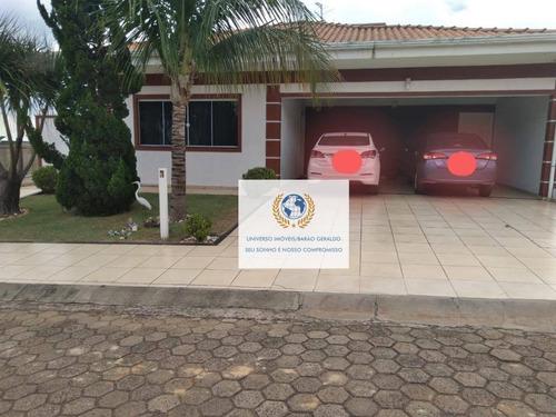 Imagem 1 de 30 de Casa Com 3 Dormitórios À Venda, 233 M² Por R$ 690.000,00 - Chácara Santa Margarida - Campinas/sp - Ca1334