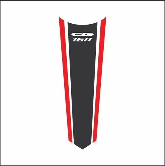 Adesivo Faixa P/ Tanque Honda Cg Titan 160 2019 Varias Cores