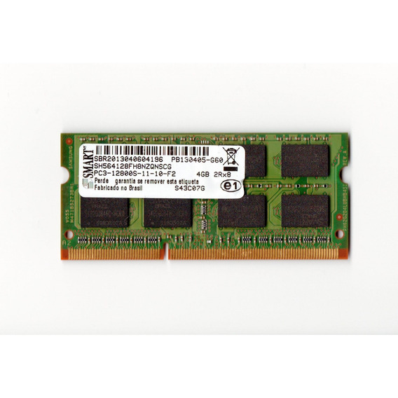 Memória Smart 4gb Ddr3 Pc3l 12800s-11-11-f2 1600mhz Hp Top!!