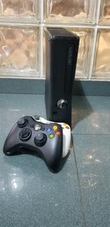 Xbox 360 S Con Kinectic + 2 Joysticks Originales