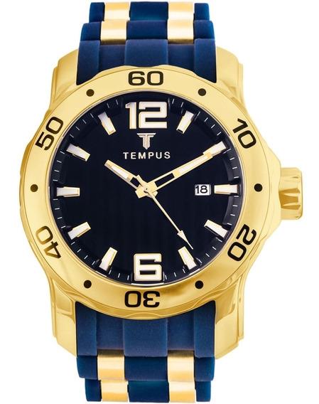 Relógio Masculino Tempus Zw30367a Barato Original Garantia
