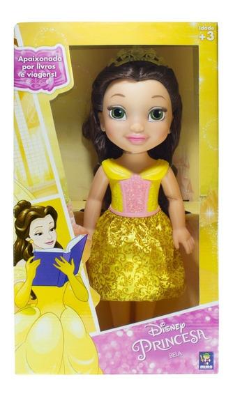 Boneca Minha Princesa Real Disney Bella 30cm Mimo