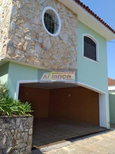 Sobrado Com 5 Dormitórios À Venda, 400 M² Por R$ 1.250.000,00 - Vila Rosália - Guarulhos/sp - Ai20567