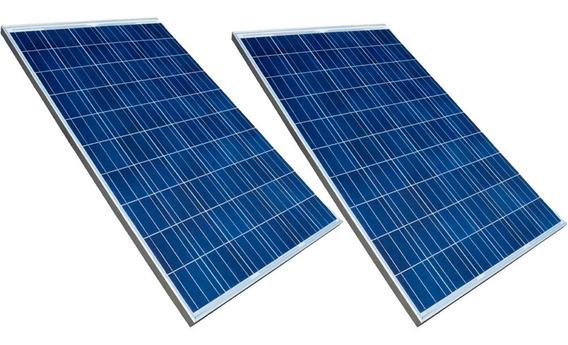 Panel Solar 2 Unidades De 340w Precio Promocion Estos Dias!