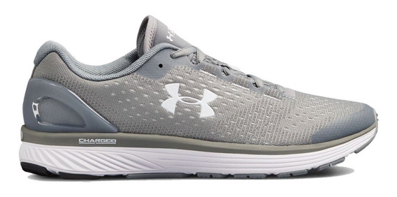 Zapatillas Under Armour Charged Bandit 4 Gris De Mujer