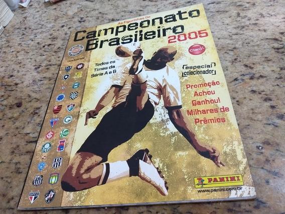 Álbum Figurinhas Campeonato Brasileiro 2005 + 462 Figurinhas