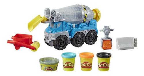 Imagen 1 de 3 de Play-doh Wheels - Camión De Cemento