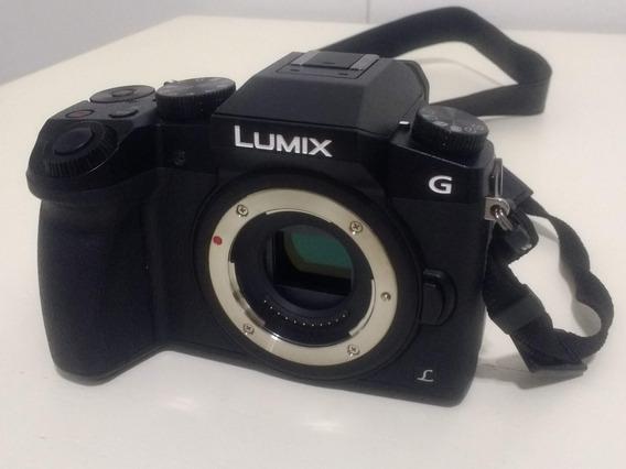 Camara Panasonic Lumix G7 4k Micro 4/3 (solo Cuerpo) $45000