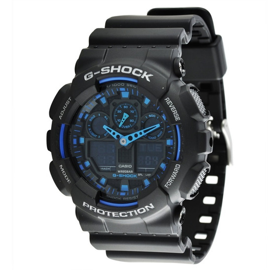 Relógio Casio Masculino G-shock Ga-100-1a2dr