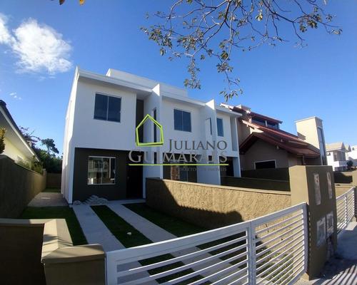 Imagem 1 de 30 de Casa Nova Com 2 Suítes, Residencial À Venda, São João Do Rio Vermelho, Florianópolis. - Ca00187 - 69446963