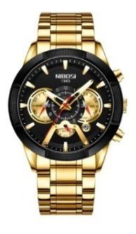 Relógio Nibosi Masculino Lançamento 2020 Pronta Entrega
