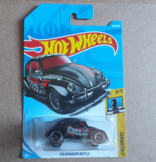Hot Wheels Volkswagen Beetle - Checkmate 8/9 Mainline 2017
