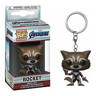 Rocket Avengers Endgame Funko Keychain Exclusivo Walmart