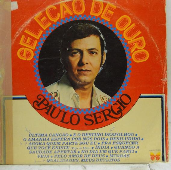 Lp Paulo Sérgio - Seleção De Ouro - P120