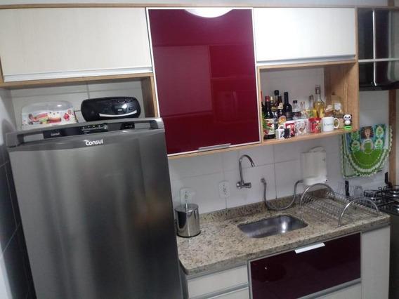 Excelente Apartamento 2 Dormitórios À Venda, 52 M² Por R$ 230.000 - Condomínio Bosque São Paulo - Sorocaba/sp - Ap0168