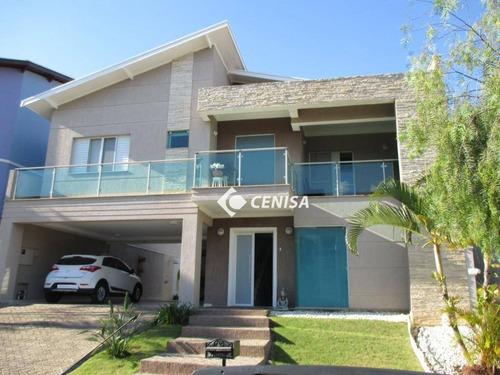 Casa Com 3 Dormitórios À Venda, 206 M² - Condomínio Amstalden Residence - Indaiatuba/sp - Ca1966