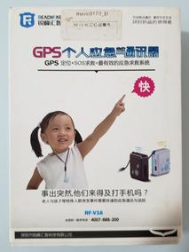 Mini Gps Rastreador Pessoal Localizador Kids Gsm Gps Rf-v16