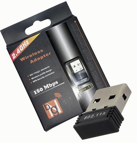 Imagen 1 de 3 de Pack 6x Adaptador Nano Usb Wifi Colores Hasta 150 Mts