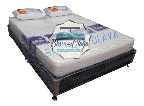 Basecama Doble 140x190 Colchon Almohadas Envio Solo Bogota