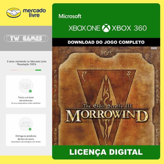 Tes 3 The Elder Scrolls Iii Morrowind Digital Xbox One 360