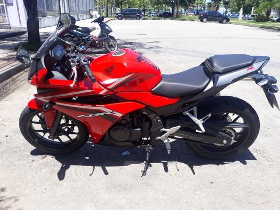 Honda Cbr 500 R, Único Dono, Vermelha,somente 2.500km