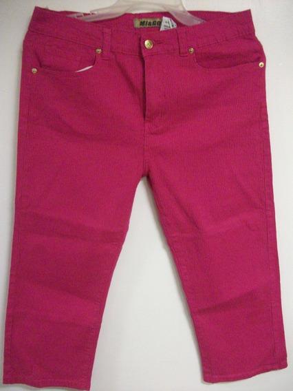 Pantalon Strech Dama Capri T/grande Tienda Virtual