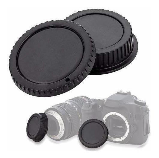 Tampa De Proteção Para Corpo E Objetiva Dslr - Nikon