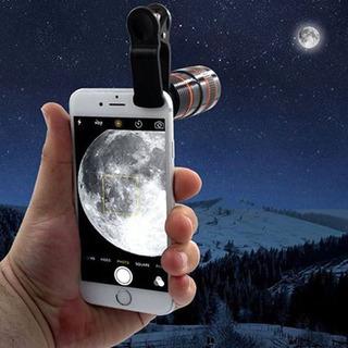 Fotografia Telescópio Lente Clipe Para Móvel Telefone