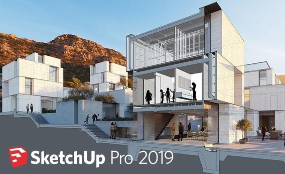 Sketchup Pro 2019+v-ray