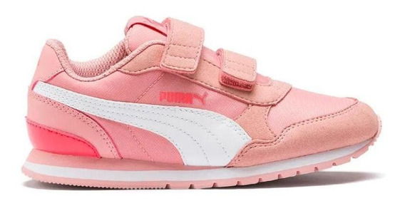 Puma Zapatillas Kids - St Runner V2 Velcro Ps Adp Ros
