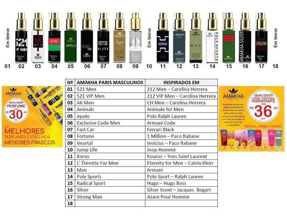 Perfume Importado Amakha Paris 15ml