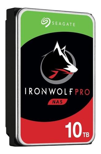 Hd Seagate Ironwolf Pro 10tb 3.5´ Sata 6gb/s St10000ne0008