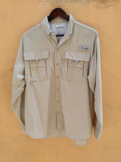 Columbia Pfg Camisa Manga Larga