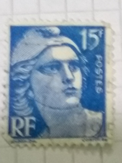 French Stamps Marianne Head Gandon Rf Postes 6, 10f