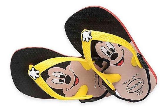Chinelo Havaianas Kids Baby Mickey Classics