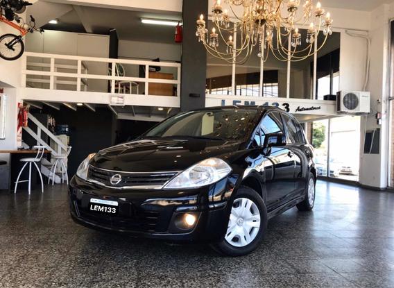 Nissan Tiida Nafta 5ptas Full-full Excelente , Anticipo $