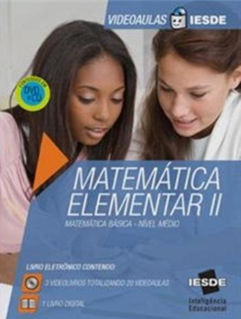 Matemática Elementar Ii - Vídeoaula Iesde - Cd-rom + Dvd -