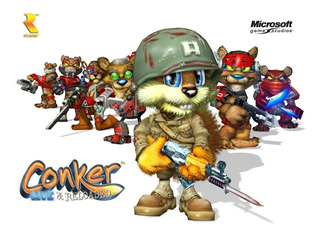 Conker Live And Reloaded Rom