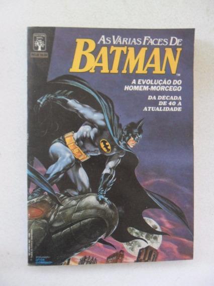 As Várias Faces De Batman! Ed. Abril Out 1989