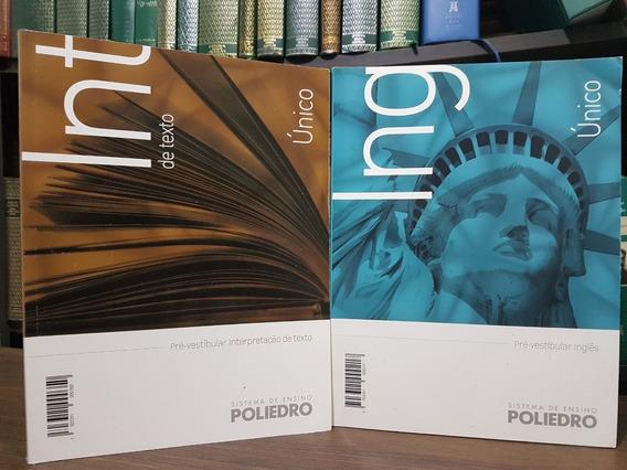Livros Poliedro Interpretação + Inglês - Enem Medicina Usp