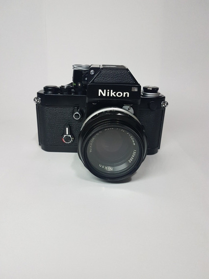 Nikon F2 - Kit Com 2 Lentes + Flash