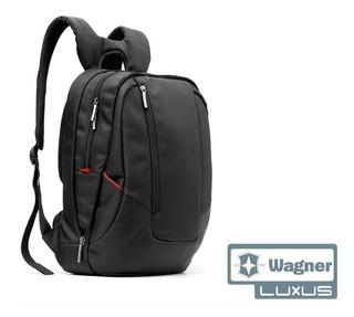 Mochila Portanotebook Impermeable Premium Wagner Leck Luxus