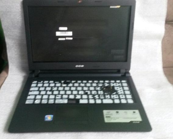 Carcaça Notebook Cce U25 U25 Completa Original.