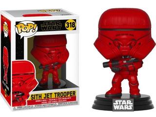 Funko Pop Star Wars Sith Jet Trooper 318 Original Nuevo