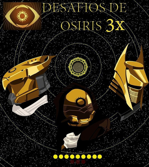 Destiny 2-desafios De Osiris- 3 Faróis Ps4/xone/pc