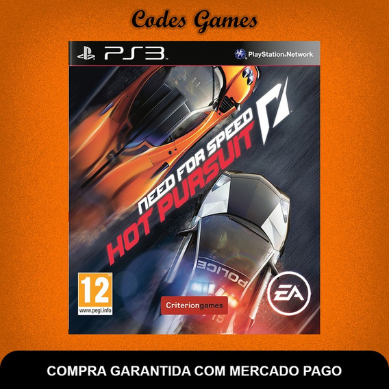 Need For Speed Hot Pursuit - Ps3 - Pronta Entrega