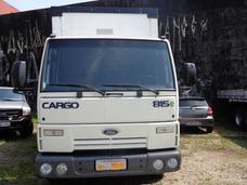 Ford Cargo 815 Baú Sider Único Dono Todo Original